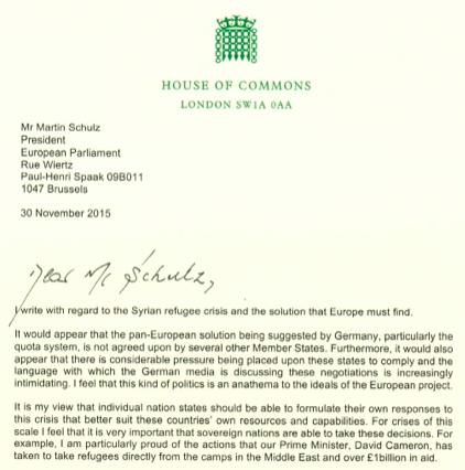 Polski doradca Camerona krytykuje Martina Schulza ws. kwotuchodźców