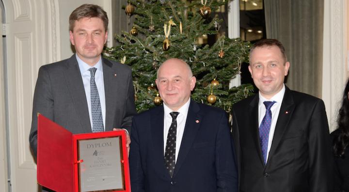 Nagroda Wybitny Polak 2016 za działalnośćpolsko-brytyjską
