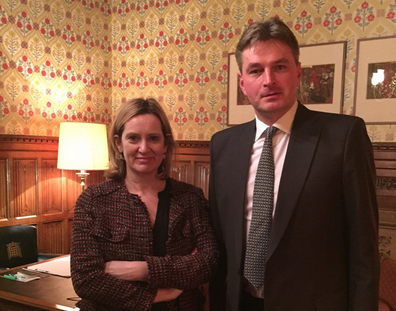Daniel Kawczynski meets Home Secretary Amber Rudd to protect EU citizens rights