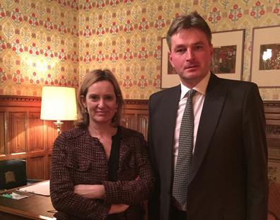 Daniel Kawczynski meets Home Secretary Amber Rudd to protect EU citizensrights