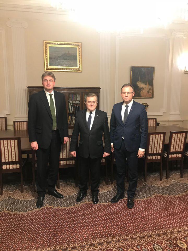Kawczynski begins cooperation with Poland's Deputy Prime MinisterGliński